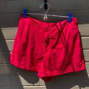 NWOT Lands End Size 8 Pink Swim Shorts